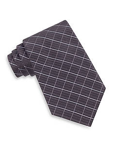 Calvin Klein Etched Windowpane Tie