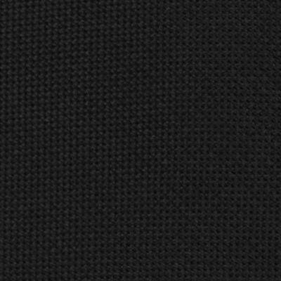 Interview Tie: Black Calvin Klein Spun Solid Tie