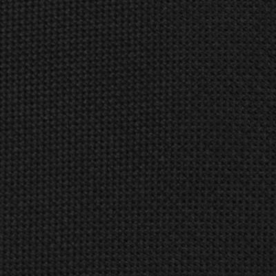Black Tie: Black Calvin Klein Spun Solid Tie