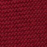 Interview Tie: Red Calvin Klein Spun Solid Tie