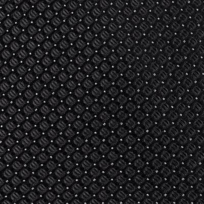 Black Tie: Black Calvin Klein Steel Micro Solid A Tie