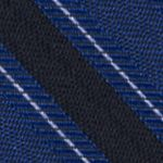 Men: Dress Shirts Sale: Cobalt Calvin Klein FC Bar Stripe Tie
