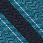 Interview Tie: Teal Calvin Klein FC Bar Stripe Tie