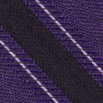 Young Men: Calvin Klein Accessories: Lilac Calvin Klein FC Bar Stripe Tie