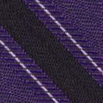 Modern Man: Dress Shirts: Lilac Calvin Klein FC Bar Stripe Tie