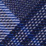 Modern Man: Dress Shirts: Cobalt Calvin Klein Schoolboy Maxi Windowpane Tie