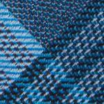 Men: Calvin Klein Accessories: Aqua Calvin Klein Schoolboy Maxi Windowpane Tie