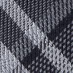 Men: Dress Shirts Sale: Black Calvin Klein Gaphite Schoolboy Plaid Tie