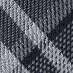 Black Tie: Black Calvin Klein Gaphite Schoolboy Plaid Tie