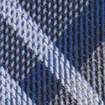 Modern Man: Dress Shirts: Navy Calvin Klein Gaphite Schoolboy Plaid Tie