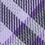 Men: Dress Shirts Sale: Purple Calvin Klein Gaphite Schoolboy Plaid Tie