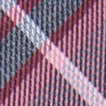 Black Tie: Coral Calvin Klein Gaphite Schoolboy Plaid Tie