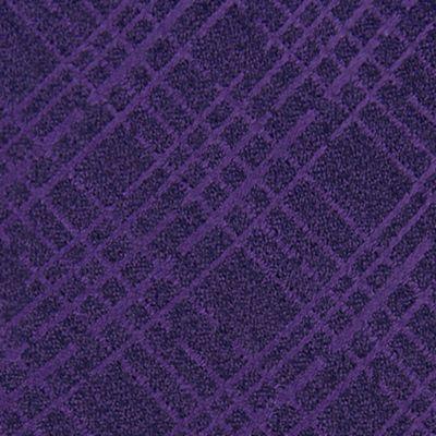 Men: Dress Shirts Sale: Purple Calvin Klein Broken Plaid Tie