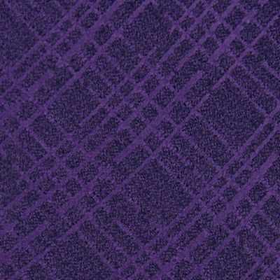 Black Tie: Purple Calvin Klein Broken Plaid Tie
