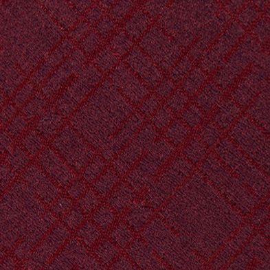 Mens Ties: Plaid: Red Calvin Klein Broken Plaid Tie
