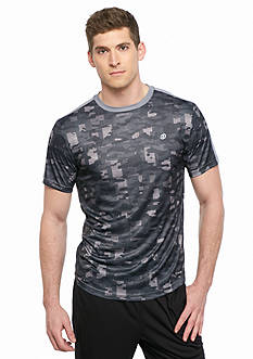 SB Tech Short Sleeve Camo All Over Print Crew Neck Tee