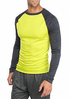 SB Tech Long Sleeve Raglan Crew Neck Shirt