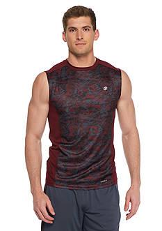 SB Tech Printed Basketball Muscle Tee