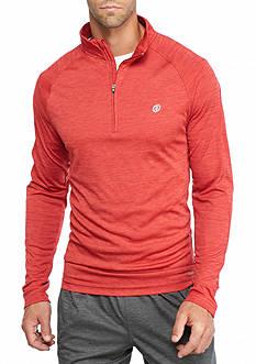 SB Tech Long Sleeve Space-Dye 1/4 Zip Shirt
