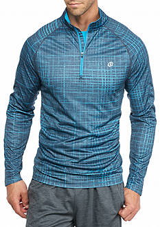 SB Tech Printed Quarter Zip Shirt