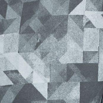 Sports Hoodies for Men: Light Gray SB Tech CoolPlay Geo Print Fleece Hoodie