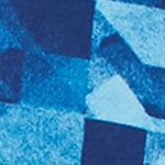 Sb Tech: Navy/Turquoise SB Tech CoolPlay Geo Print Fleece Hoodie
