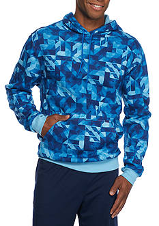 SB Tech® CoolPlay Geo Print Fleece Hoodie