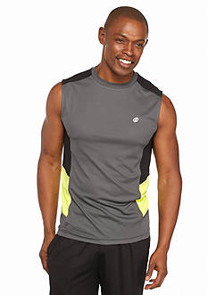 SB Tech® Run Muscle Tee With Solid Panels