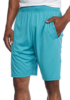 SB Tech® CoolPlay Embossed Micro Shorts