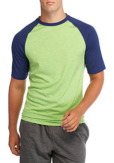 SB Tech® Short Sleeve Spacedye Raglan Shirt
