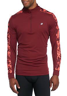 SB Tech Long Sleeve Printed Quarter Zip Shirt