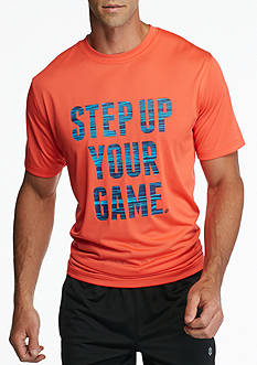 SB Tech® Step Up Your Game Graphic Short Sleeve Tee