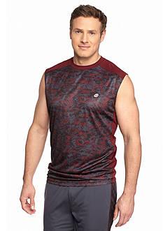 SB Tech® Big & Tall Printed Basketball Muscle Tee