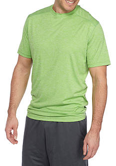 SB Tech Big & Tall Short Sleeve Space-Dyed Crew Neck Tee