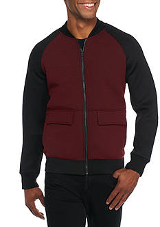 Kenneth Cole Color Block Bomber Jacket