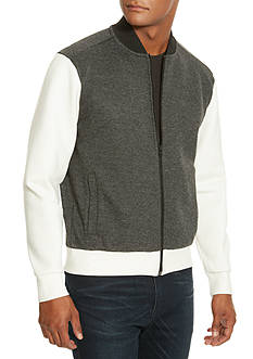Kenneth Cole Neoprene Sleeve Soft Shell Jacket