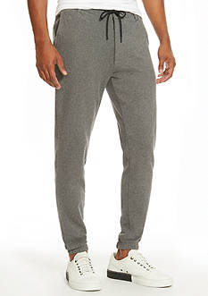 Kenneth Cole Flat-Front Jogger Pants
