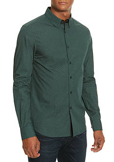 Kenneth Cole Slim-Fit Neats Print Shirt