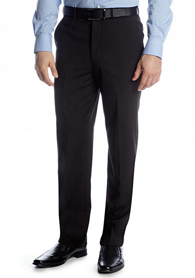 Adolfo Portly Solid Suit Separate Pants
