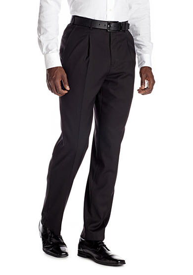 Adolfo Classic Fit Solid Suit Separate Pants