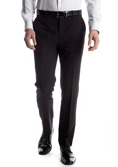 Adolfo Slim Fit Black Suit Separate Pants