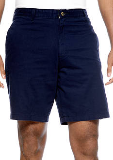 Saddlebred® Big & Tall Flat Front Shorts