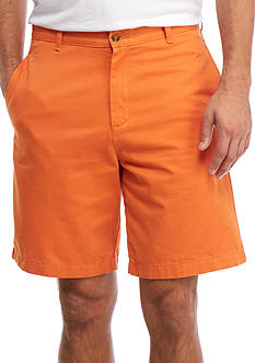 Saddlebred Big & Tall 9-in. Flat Front Shorts