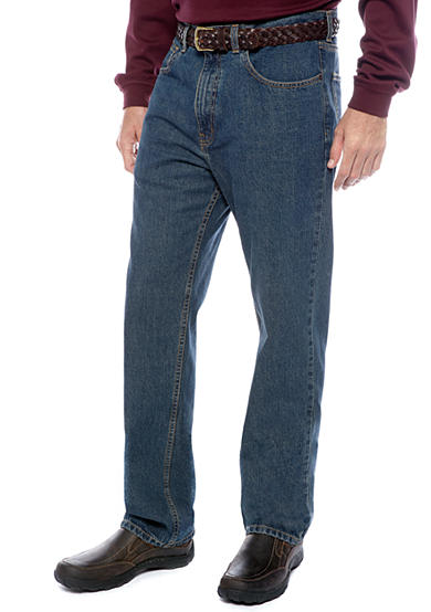 Saddlebred® Big & Tall 5-Pocket Regular Fit Jeans