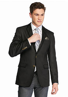 Tallia Orange Slim-Fit Solid Sport Coat