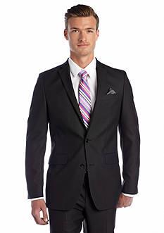 Tallia Orange Slim Fit Black Tonal Suit Separate Coat