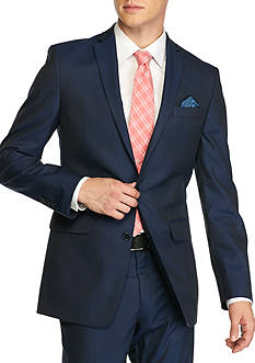 Tallia Orange Slim-Fit Tailored Suit Separate Coat