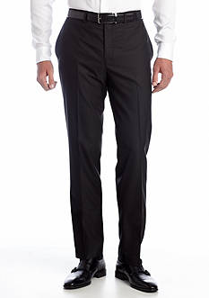 Tallia Orange Slim Fit Black Tonal Suit Separate Pants