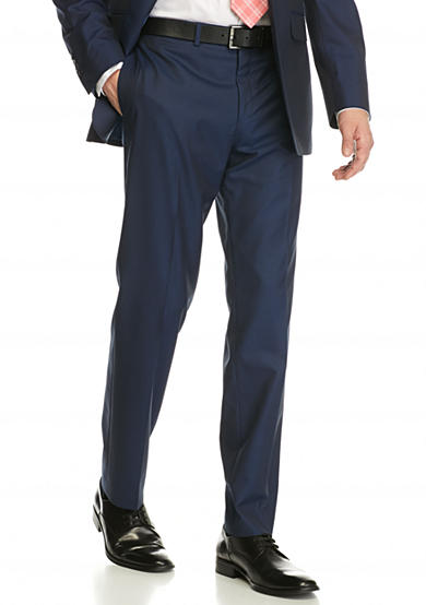 Tallia Orange Slim-Fit Tailored Suit Separate Pants
