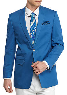 Tallia Orange Slim-Fit Cotton Solid Sport Coat